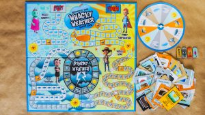Whacky Weather Board Game
