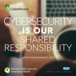 Cybersecurity is our shared responsibility