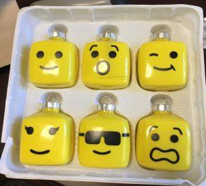 Lego Ornaments Handmade