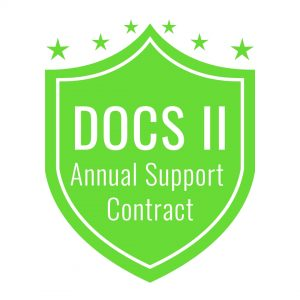 DOCS II SaaS Annual Support Contract
