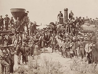 Transcontinental Railroad 150th Anniversary