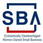 SBA Certified Economically Disadvantaged Women-Owned Small Business